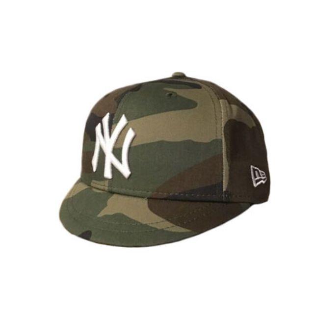 NEW ERA SNAPBACK 短帽簷 YANKEES 洋基隊 迷彩 505 電繡 棒球帽 全新正品