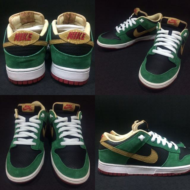 Nike Dunk Low premium SB ''Miller High Life'' beer🍻