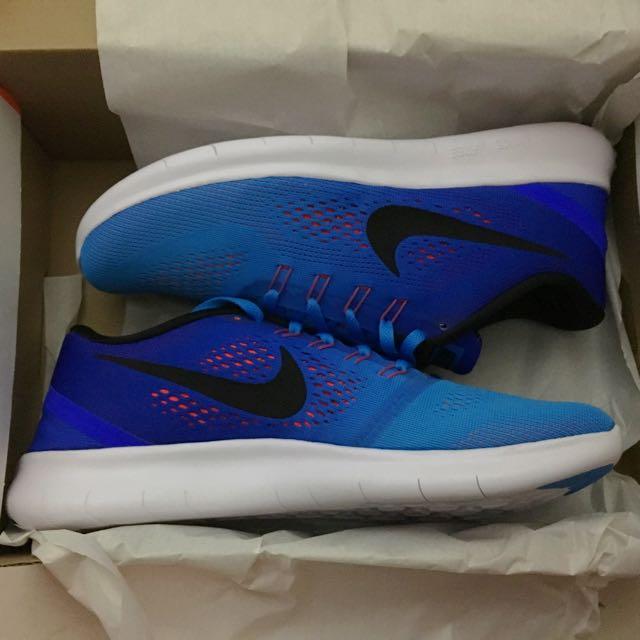 Nike Free RN 赤足 輕量 漸層 慢跑鞋