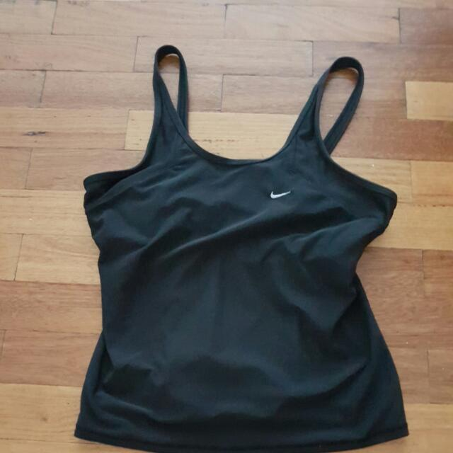 Nike Gym Top With Built In Bra