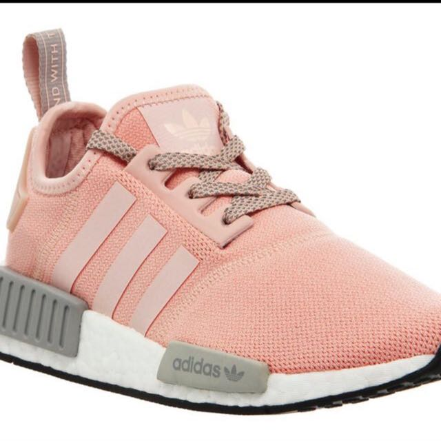 c784a49fa0092 Nmd X Office Pink Grey Bae Size Uk 4.5 (us6)