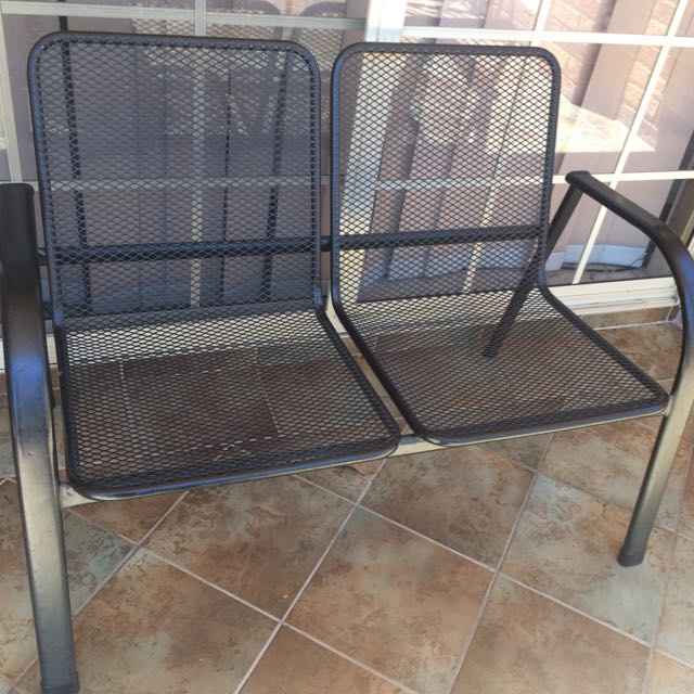 Outdoor 2 Seat Chair