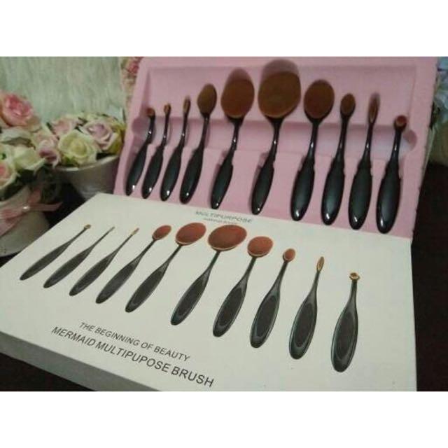 Oval Blending Brush Set