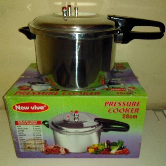 Panci Presto 12 Liter Preasure Cooker Bahan Alumunium Awet Dan Tahan Lama