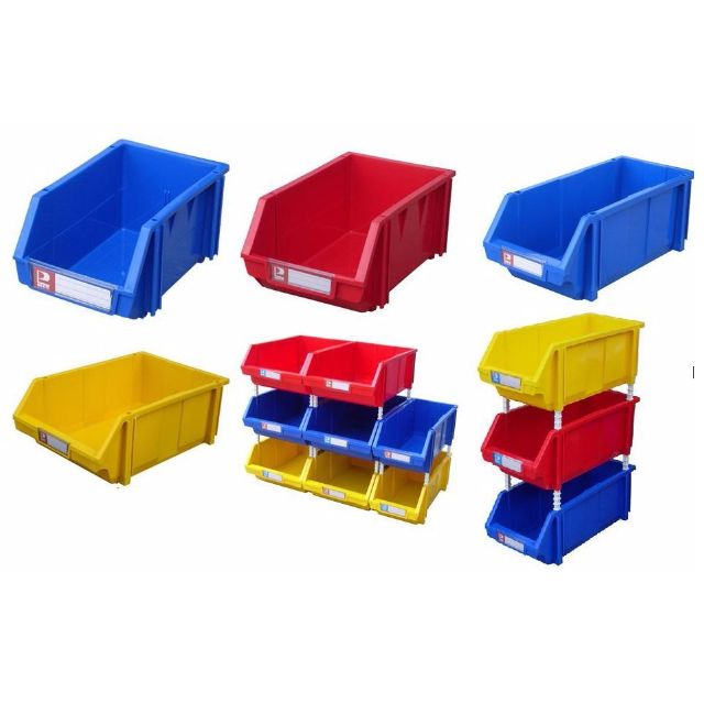 Plastic Storage Bin Box Screw Box Screw Container Hardware Organizer
