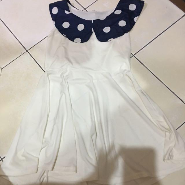 polkadot sailor dress