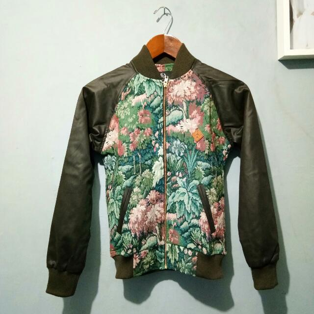 PRELOVED FLORAL JACKET