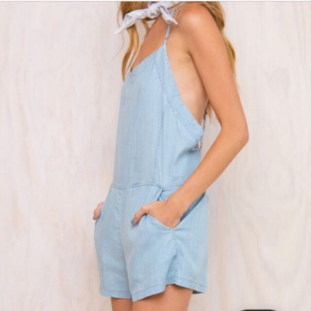PRINCESS POLLY Low Back Playsuit *FREE SHIPPING*
