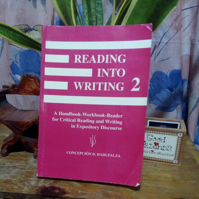 Reading Into Writing 2 by Concepcion Dadufalza