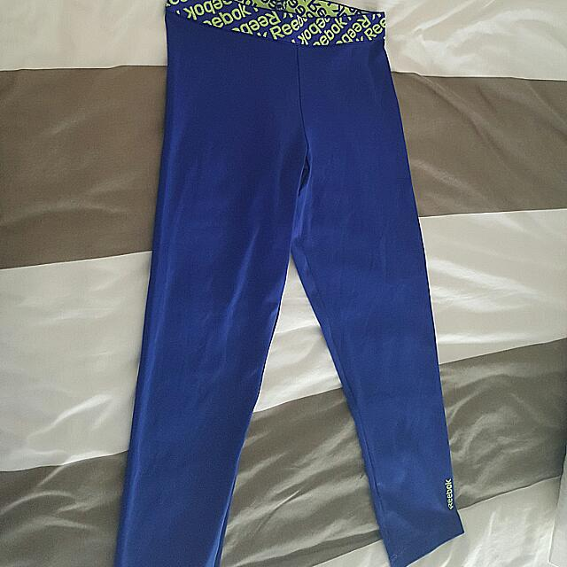 REEBOK crop &  3/4 length tights. Small Size