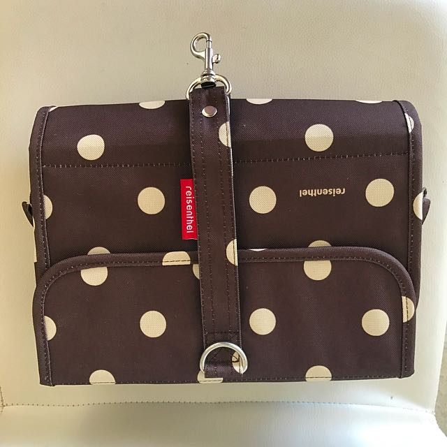 Reisenthel Toiletry Bag wrapcosmetic 'brown ruby dots'