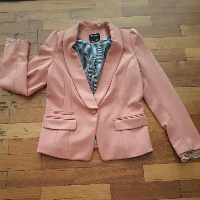 Salmon Suit Jacket