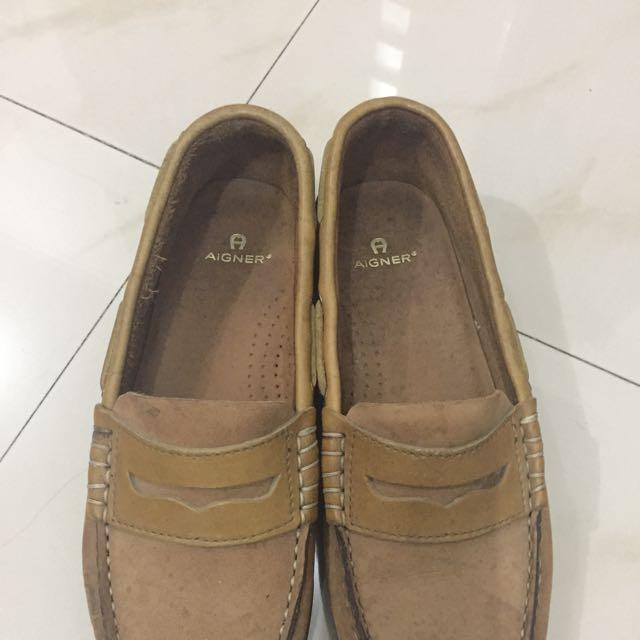 Sepatu Aigner Asli