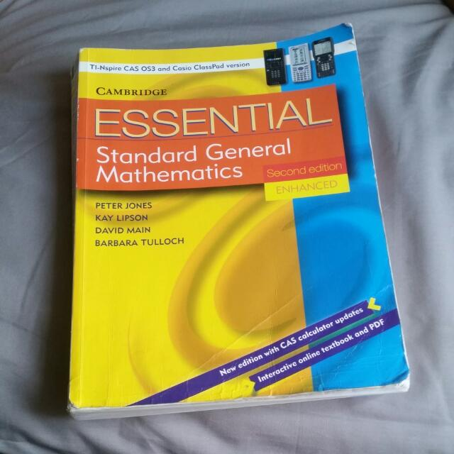 Standard General Mathematics Second Edition