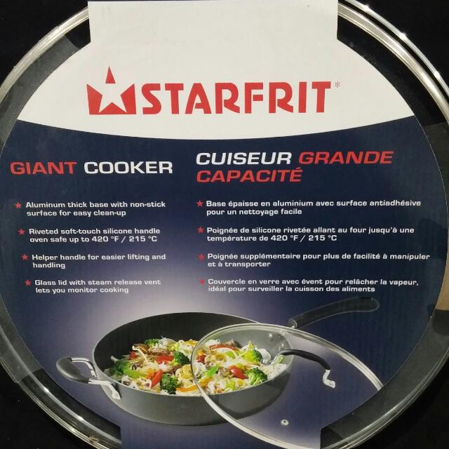 Starfrit Giant Cooker