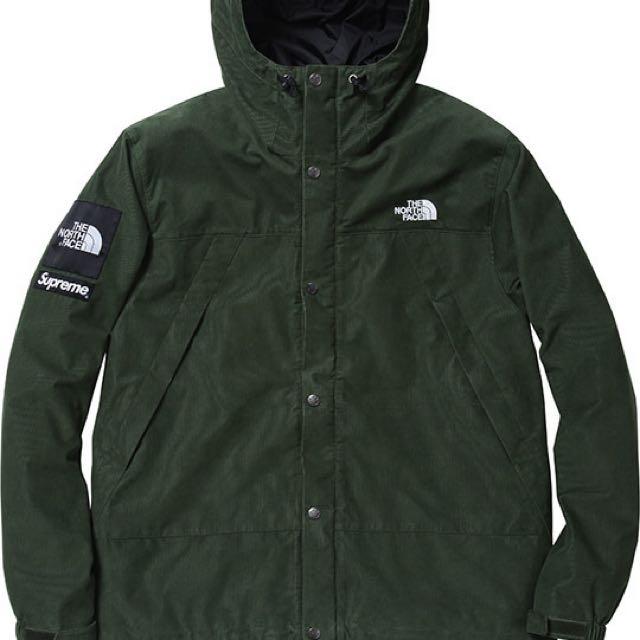 Supreme x Northface Corduroy Jacket- sz L (Fake?)