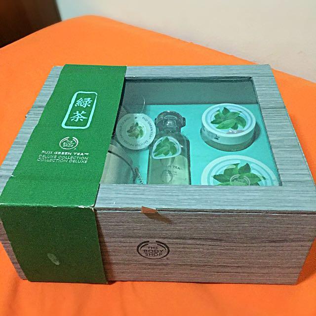 The Body Shop Fuji Green Tea Deluxe Collection