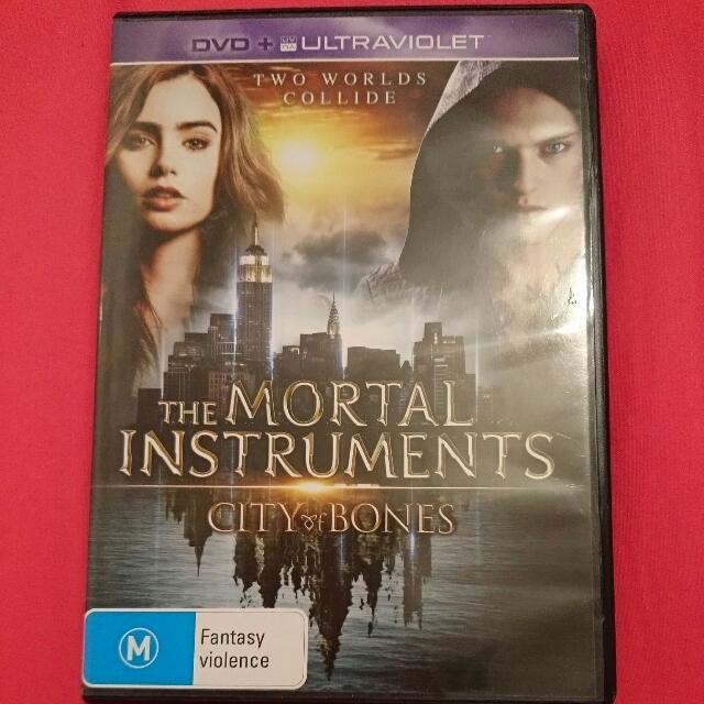 The Mortal Instruments DVD