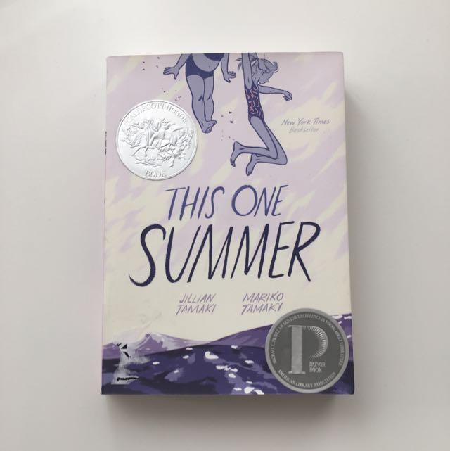 This One Summer Graphic Novel by Jillian and Mariko Tamaki