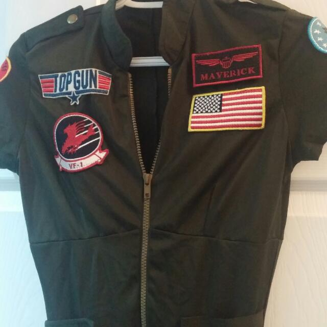 Top Gun Costume - Small