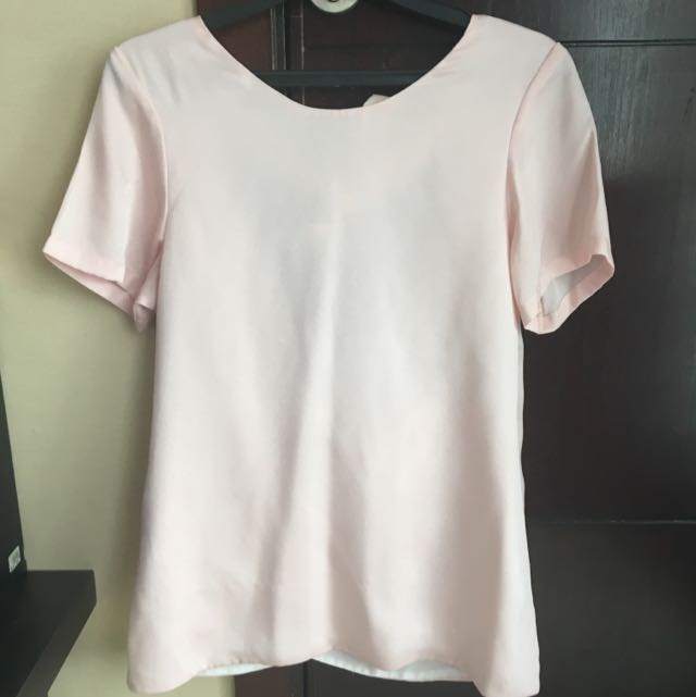 Unbranded Soft Pink Blouse