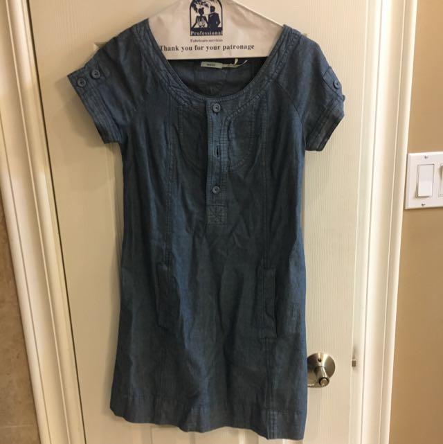 Urban Outfitters Denim Dress Xs