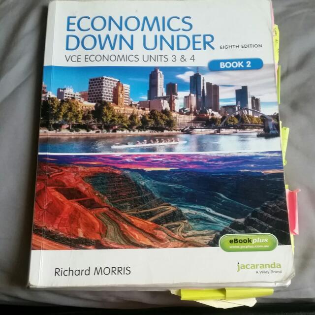 VCE Economics Units 3+4