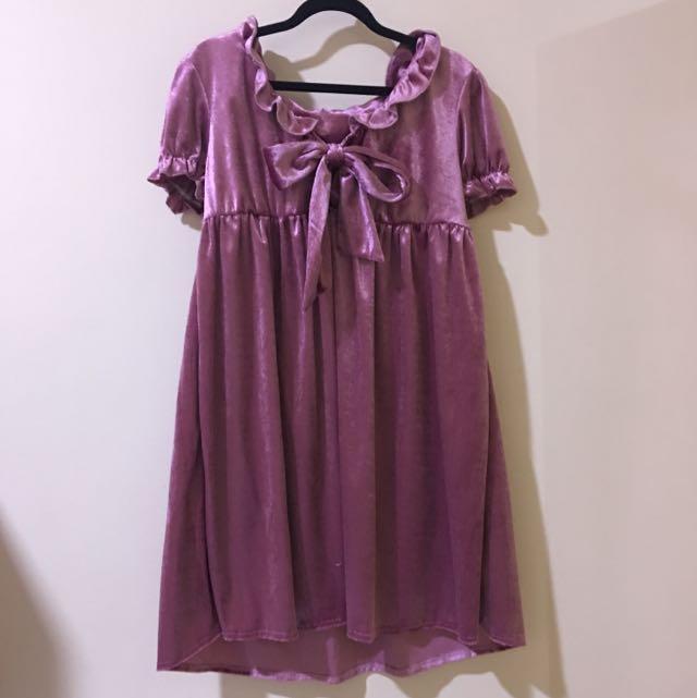 vintage asos bow dress