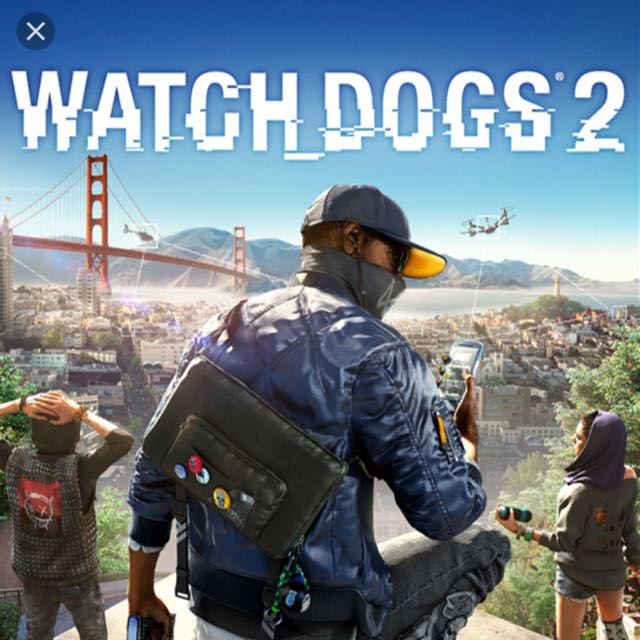 Ps4 Watch Dogs 2 中文