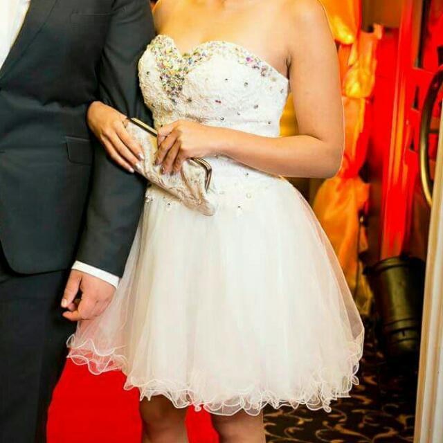 White Ball Dress