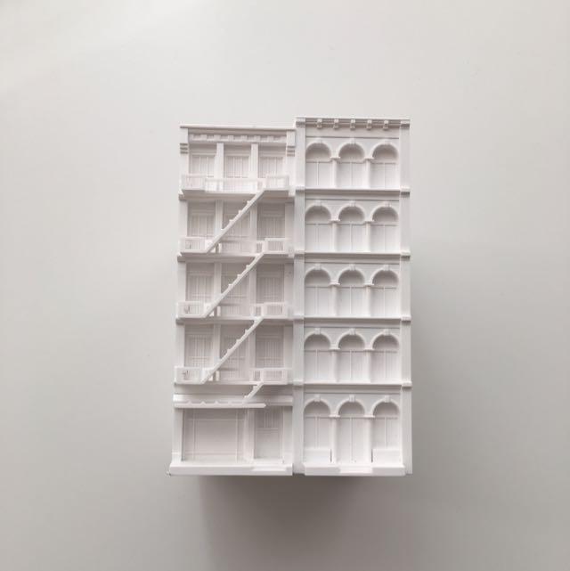 White Building Pen Holder (From MoMA New York)