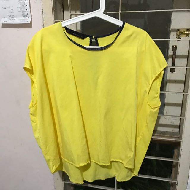 ZARA Yellow Blouse