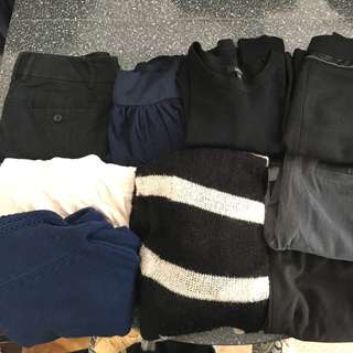 Lot Of Women's Clothing. Shirts Skirts Dresses Pants Sweaters