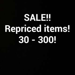 Sale Repriced