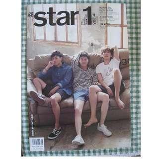 EXO BAEKHYUN CHEN SUHO Star1 Magazine August 2015