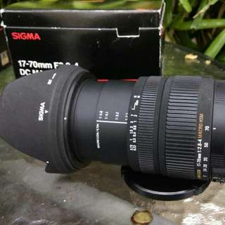Sigma For Canon 17-70mm