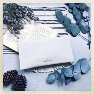 minnetonka白色麂皮手拿包-Grace品牌