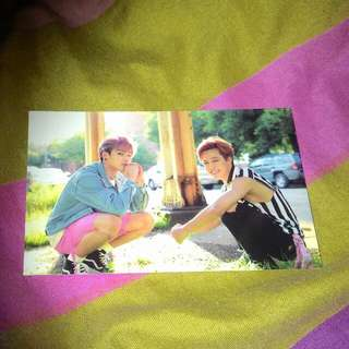 [TRADE]  BTS NOW 3 PHOTOCARD 'JiKook' Pc