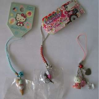 Hello Kitty pink princess cellphone strap