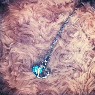 Ocean Blue Gemstone Pendant