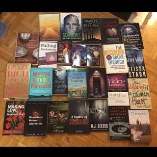 Lot of 26 Brand New Books