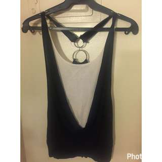 Sleeveless Top From Wet Seal