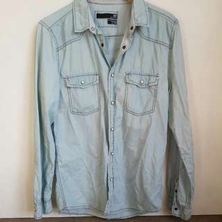 Cotton On Denim Looking Shirt