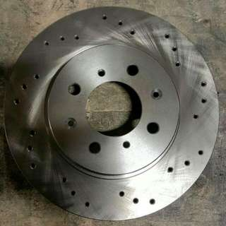 Drilled Rotors For Honda Civic Front