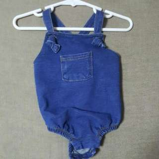 Seed Heritage Baby Overall Romper