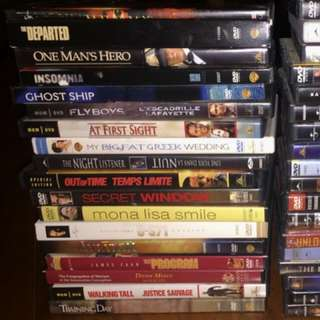 Movie Dvd's