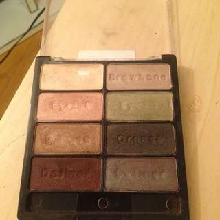 Wet And Wild Eyeshadow Palette