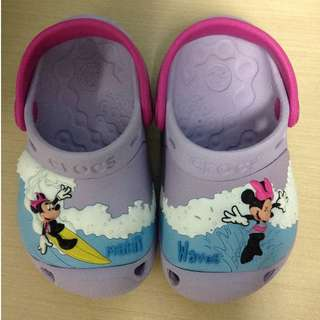 Crocs Minnie Mouse Size C6/7