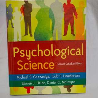Psychological Science: 2nd Canadian Edition