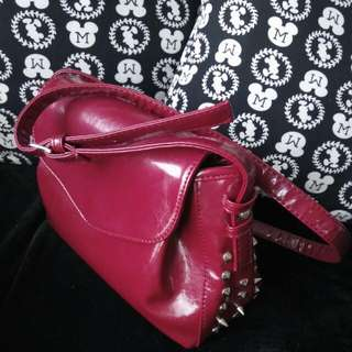 Red Bag With Thorns
